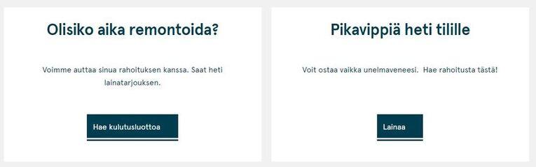 Bank Norwegian lainavaihtoehtoja