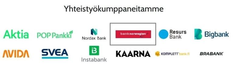 Kilpailuttamalla Bank Norwegianin säästät
