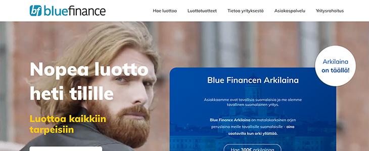 Blue Finance lainapalvelu