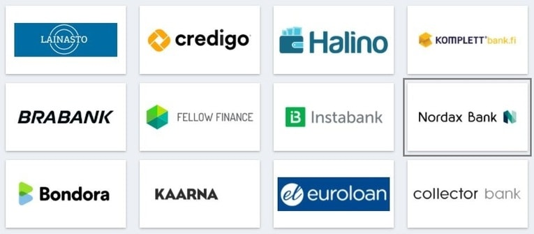 kilpailuta Nordax Bank rahoitu palvelussa