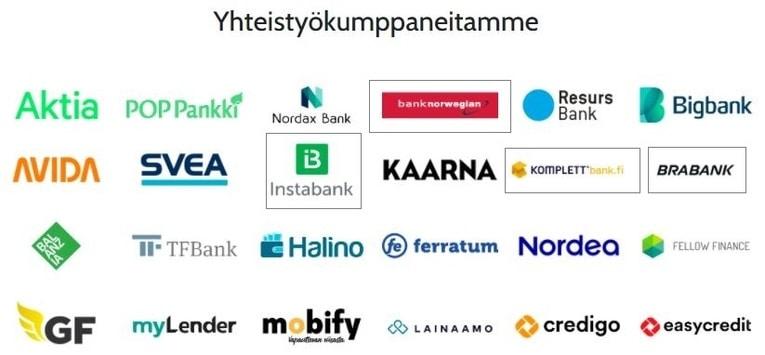 kilpailuta norjalaiset pankit Omalainalla